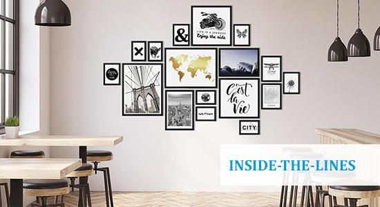 Inside-the-Lines Hängung