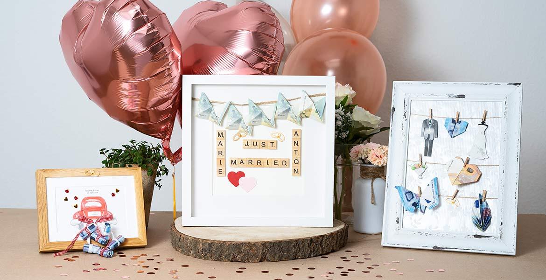Hochzeitgeschenk Ideen