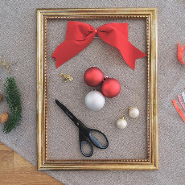 Weihnachtsdeko Christbaumkugel DIY Materialien