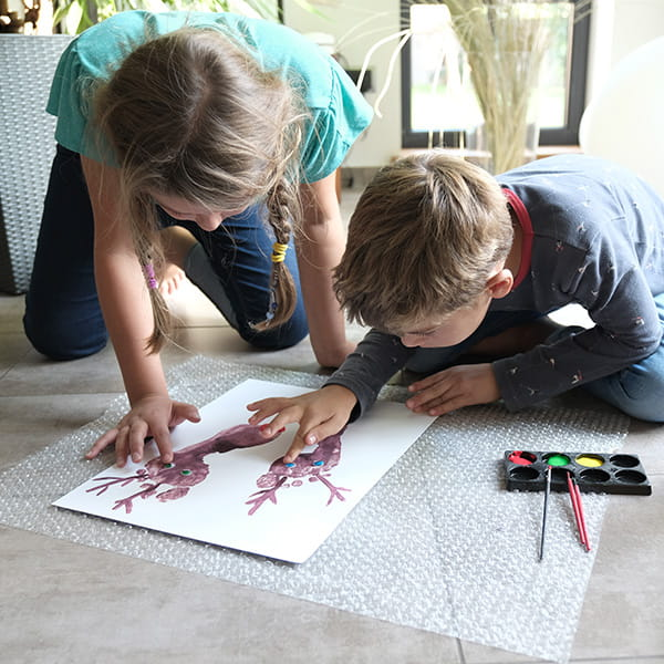 Basteln mit Kindern Poster DIY