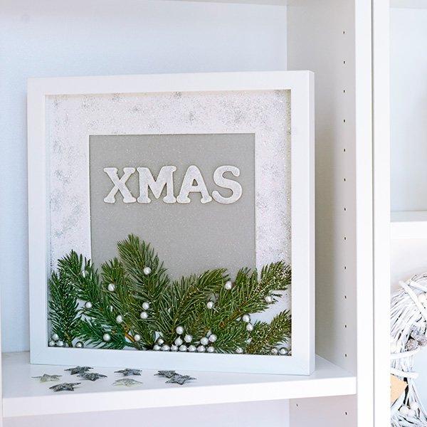 Bilderrahmen zum Befüllen Weihnachten