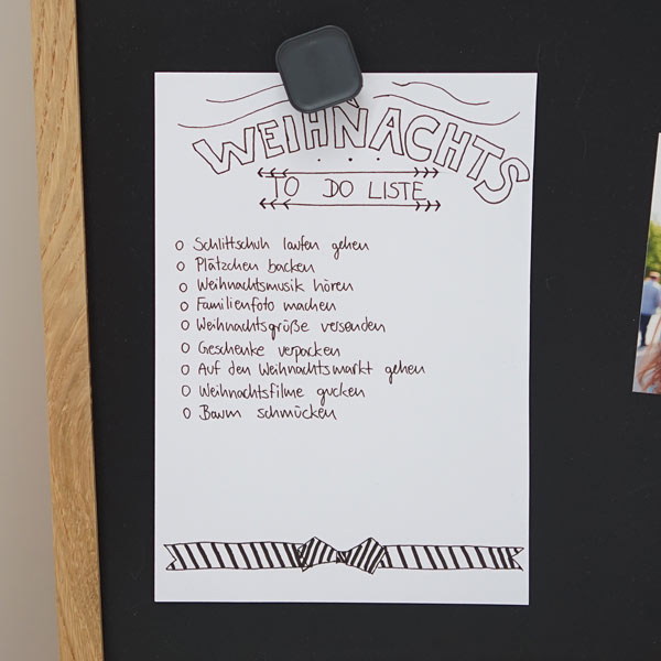 Magnettafel To-Do-Liste