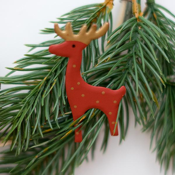 Weihnachtsdeko Weihnachtskranz Deko im Kranz
