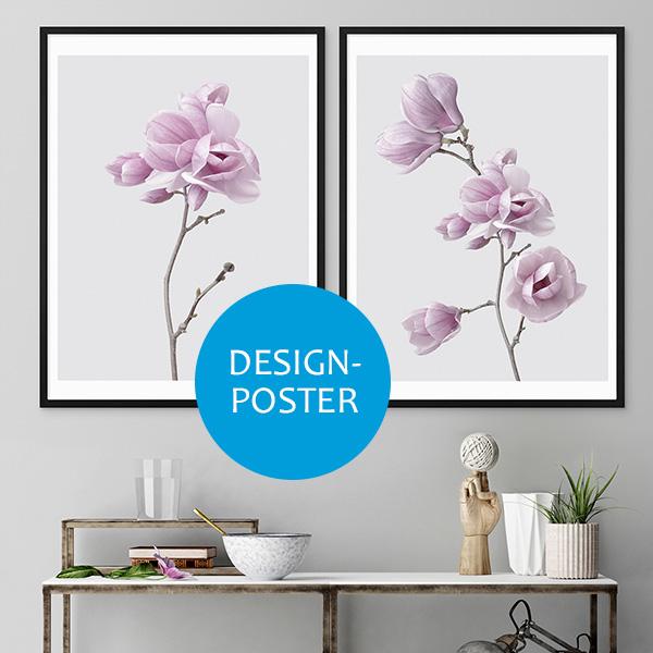 Für Firmen Bilderrahmen mit Design-Postern