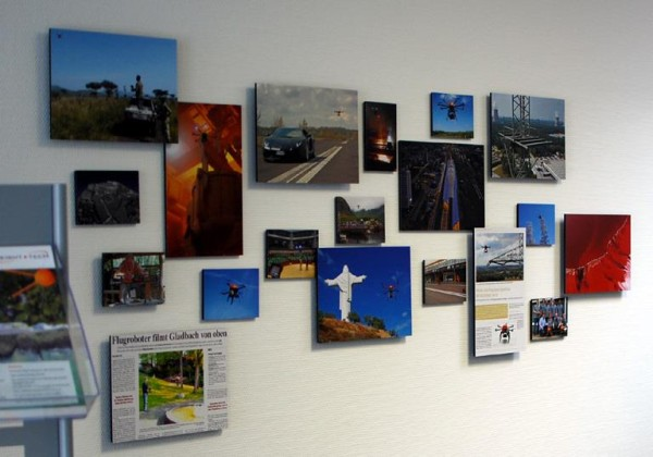 3D Fotocollage zum Thema Octocopter