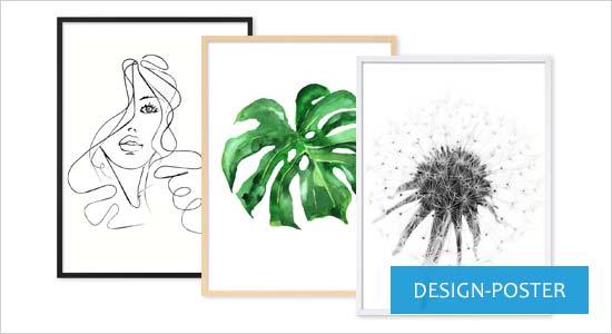 Poster für Bilderrahmen Design-Poster