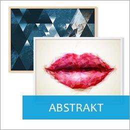 Poster für Bilderrahmen abstrakte Motive