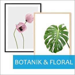 Poster für Bilderrahmen Botanik und Floral