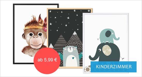 Poster für Bilderrahmen fürs Kinderzimmer