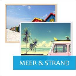 Poster für Bilderrahmen Meermotive