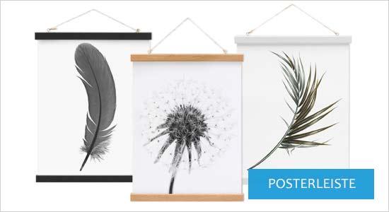 Poster für Bilderrahmen Posterleisten