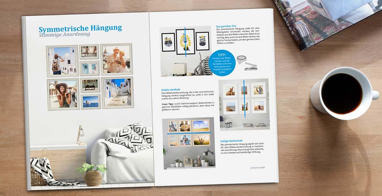 Pressemitteilung E-Paper Wände dekorien