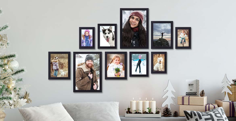 Pressemitteilung Weihnachten Bilderrahmen Bilderrahmen-Set modern