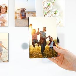 Magnet-Fotowand Beispiel