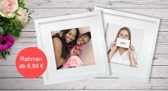 Muttertagsgeschenk Objektrahmen mit Foto