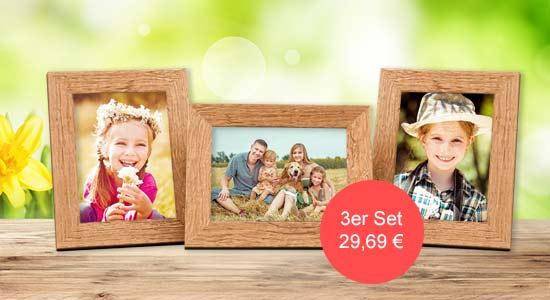 Ostergeschenke 3er Bilderrahmen-Set Strandhaus