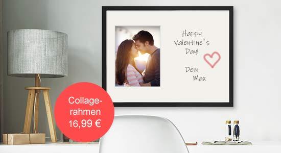 Valentinstag Geschenk Collagerahmen