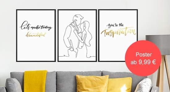Valentinstag Geschenk Poster