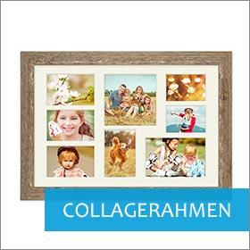 Collagerahmen im Strandhaus-Look