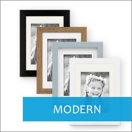 Bilderrahmen modern in schwarz