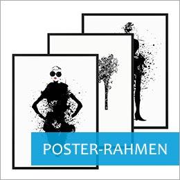 Bilderrahmen mit Postern