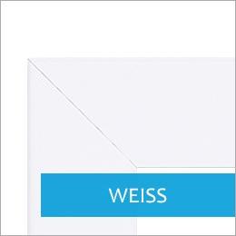 Bilderrahmen in Weiss