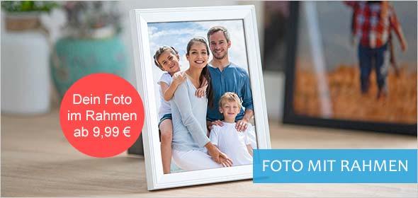 Bilderrahmen mit Foto zum Bestellen