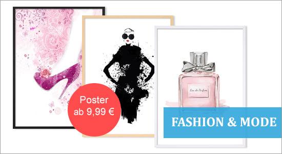 Poster Fashion und Mode Kategoriebild