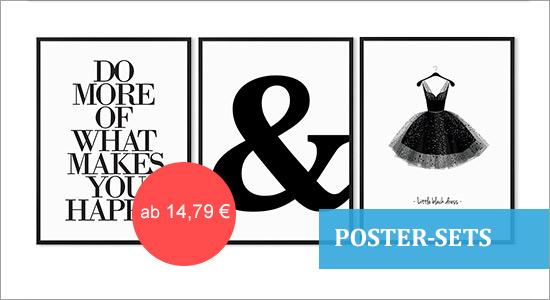 Poster-Set mit Bilderrahmen Kategoriebild