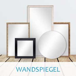 Wandspiegel rund, quadratisch und rechteckig