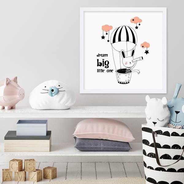 Geschenke zur Geburt Poster für das Babyzimmer