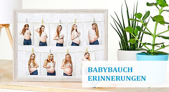 Bilderrahmen Babyparty für Glückwunsche