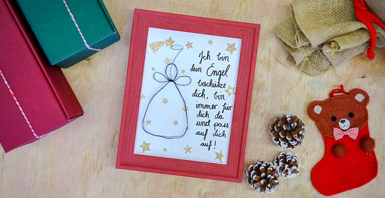 Schönes Weihnachtsgeschenke Magnettafel als Memoboard