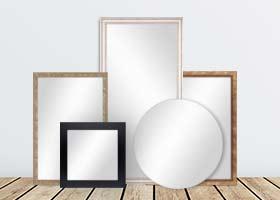 Spiegel verschiedene Größen