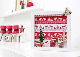 Weihnachtsgeschenkideen mit Bilderrahmen