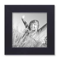 3er Set Bilderrahmen 15x15 cm Schwarz Modern aus MDF mit Glasscheibe und Zubehör / Fotorahmen  – Bild 5