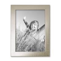 3er Set Bilderrahmen 13x18 cm Silber Modern Massivholz-Rahmen mit Glasscheibe inkl. Zubehör / Fotorahmen  – Bild 6