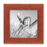15er Set Bilderrahmen Modern Kirsche Massivholz 10x15 bis 20x30 cm inklusive Zubehör zur Gestaltung einer Collage / Bildergalerie – Bild 7