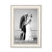 12er-Set Bilderrahmen Shabby-Chic Landhaus-Stil Weiss 10x15 bis 20x30 cm inklusive Zubehör / Fotorahmen  – Bild 6