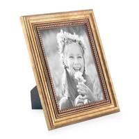 5er-Set Bilderrahmen Gold Barock Antik 10x10 10x15 13x18 und 15x20 cm inkl. Zubehör Fotorahmen / Barock-Rahmen  – Bild 4