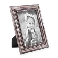 Bilderrahmen 10x15 cm Silber Barock Antik 3er Set – Bild 3
