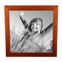 8er-Set Bilderrahmen Kirsche Modern Massivholz-Rahmen je 2 mal 10x10, 10x15, 20x20 und 20x30 cm, inkl. Zubehör, zur Gestaltung einer Bilderwand oder Fotowand / Fotorahmen   – Bild 6