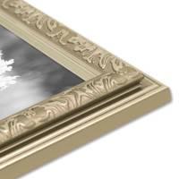 Bilderrahmen Antik Silber Nostalgie 13x18 cm Fotorahmen mit Glasscheibe / Kunststoff-Rahmen – Bild 7