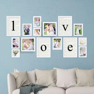 hochzeits geschenke mit bilderrahmen hochzeitsrahmen. Black Bedroom Furniture Sets. Home Design Ideas