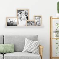 4er Set MDF-Bilderrahmen Modern Natur mit Bilderleiste – Bild 2