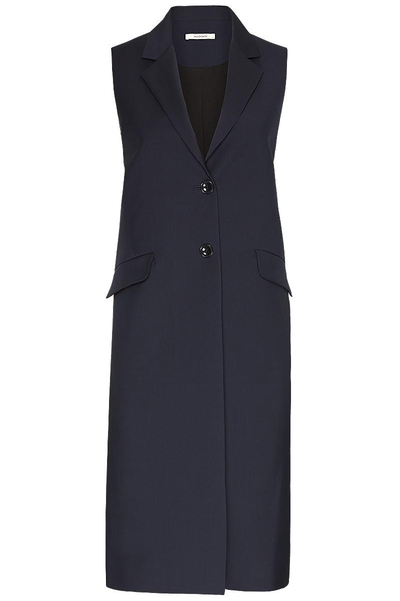 Long coat vest S 100