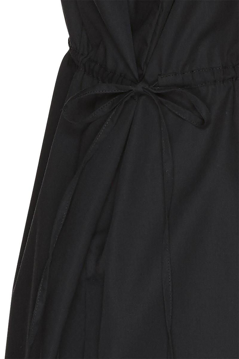 Poplin oversize dress