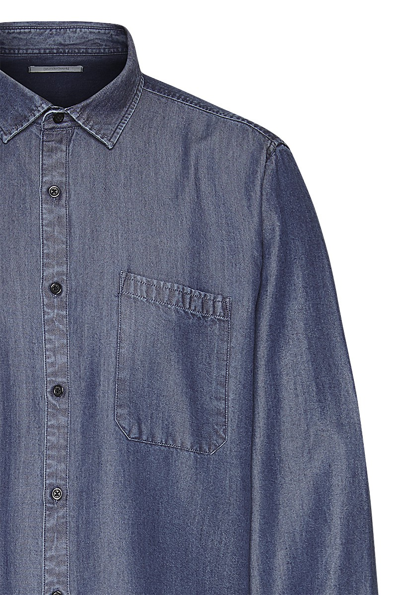 Denim shirt TENCEL male