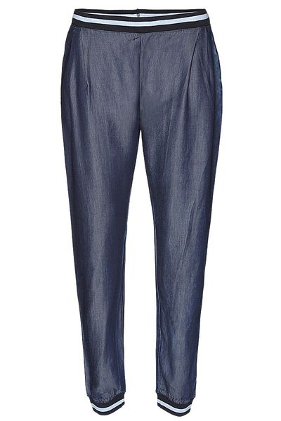Tencel denim rib pant from Wunderwerk