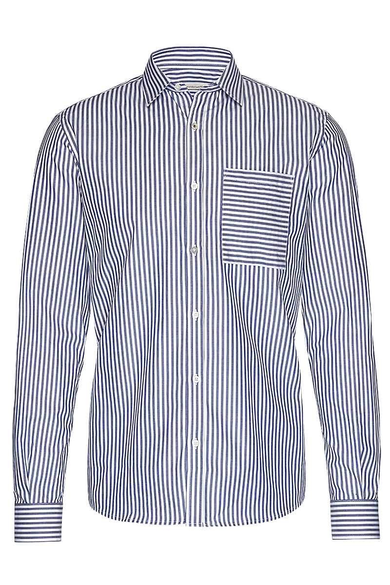 Metro shirt slim bold stripe